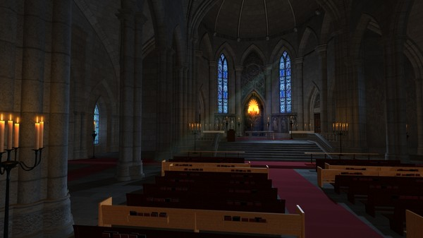 church interior 3d model - Church... by studio Lab