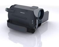 3d max video camera cam