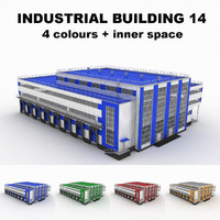 Large industrial building 14