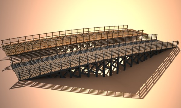 double bridge 3ds - double bridge(1)... by dvranimation