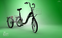 3d model of bike monobike