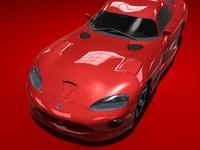 3d model dodge viper