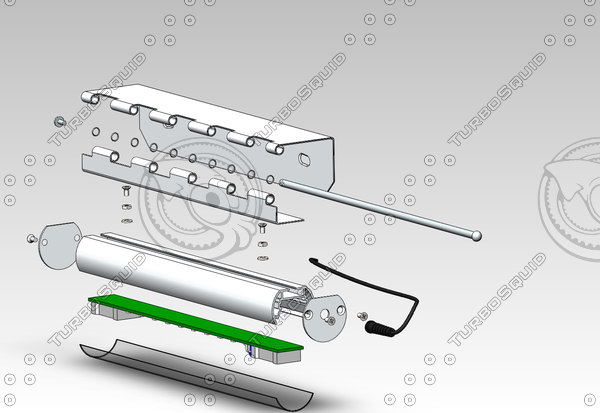 led lamp 3d ige - LED lamp... by 3DSolidModel