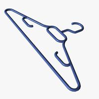 3ds max plastic coat hanger