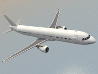 3d model of airbus a321