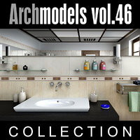3d model of archmodels vol 46