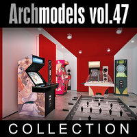 archmodels vol 47 machines 3d model