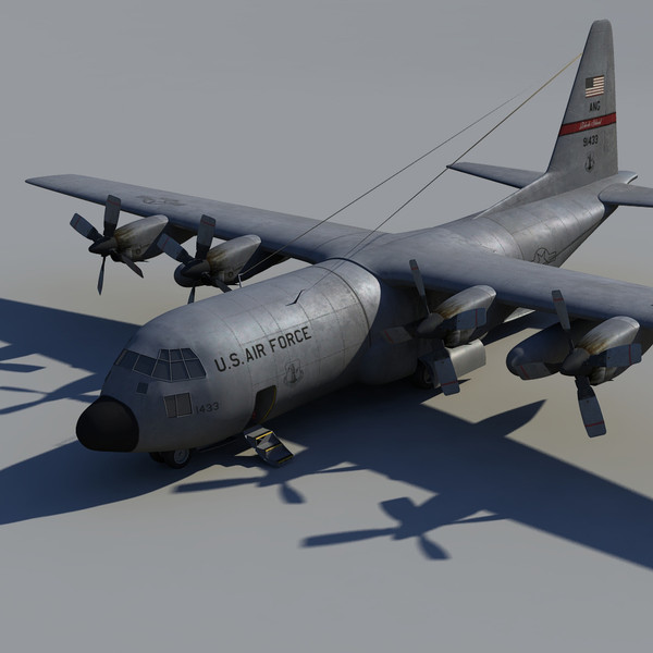 transport plane 3d x - C-130... by studio Lab