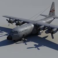 transport plane 3d x