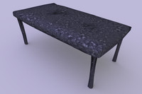 3ds max table
