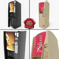 3d 3ds coffee vending machines