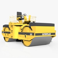 Compac Roadroller Machine