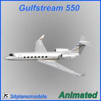 Gulfstream G550 MetroJet