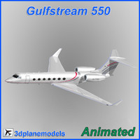 Gulfstream G550 Private livery 2