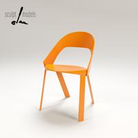 wogg 50 chair 3d model