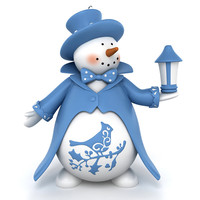 snowman decoration snow max