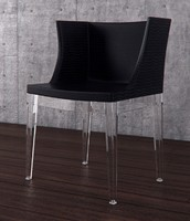3d model mademoiselle chair