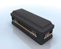 3ds max casket funeral