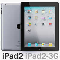 iPad 2 Wi-Fi and iPad 2 Wi-Fi 3G
