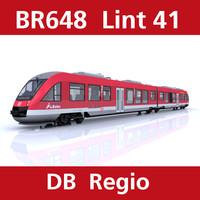 3d lint passenger train db