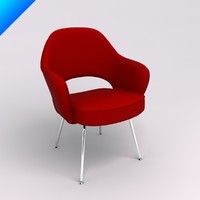 design eero saarinen executive 3d 3ds