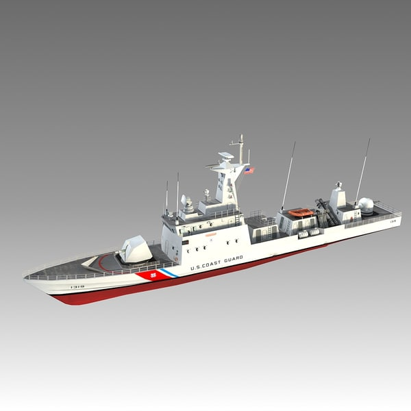 obj coast guard patrol boat - US.Coast Guard Patrol Boat... by Omegavision