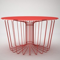 table wire 3d model