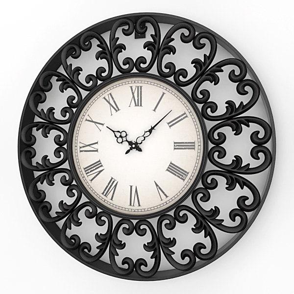 Decorative Wall Clock Model : Ds analog decorative wall clock