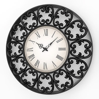 3ds analog decorative wall clock