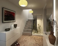 3ds max interior foyer