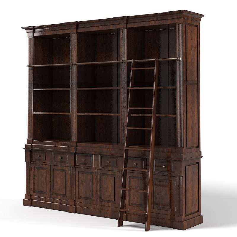Eichholtz Cabinet King William Classic Library Stair Book.jpg