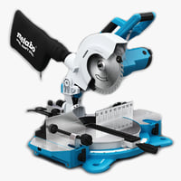 3d model metabo mitre saw ks
