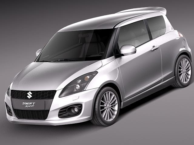 suzuki swift sport 2012 3d max. Black Bedroom Furniture Sets. Home Design Ideas