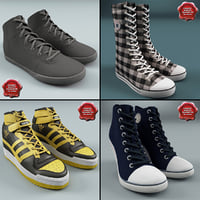 3d max winter sport shoes v2