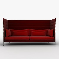 3ds max vitra alcove chair