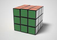 3d model toy cube