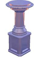 3d model coloumn colonna