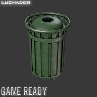 3d model trash games