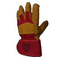 3d suede glove model