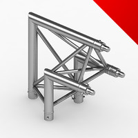 truss eurotruss parts 3d model