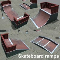 halfpipe coz111107 3d model