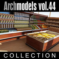 3d archmodels vol 44 model