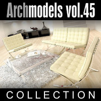maya archmodels vol 45 furniture