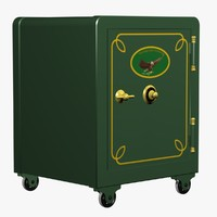antique safe 3ds