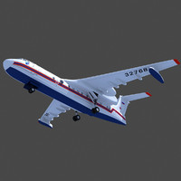 3d model beriev be-200 altair aircraft