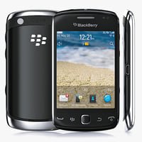3d model of blackberry curve 9380