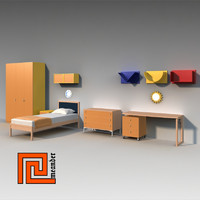 Childrens furniture set 01