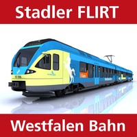 maya flirt passenger train westfalen