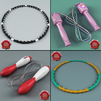 Jump Ropes and Hula Hoops Collection