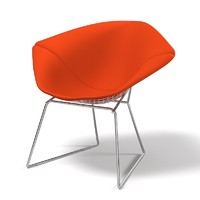 3d knoll bertoia diamond